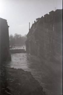 ARH NL Koberg 1964, Leinehochwasser, Goethestraße, Glocksee, Waterlooplatz, Hannover, 1946