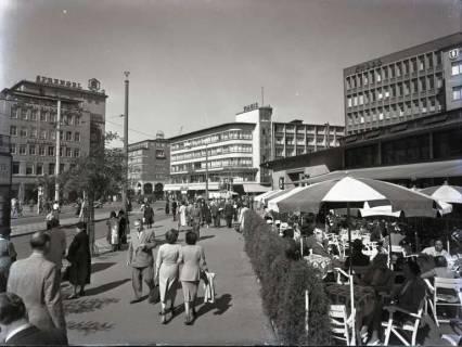 ARH NL Koberg 201, Café am Kröpcke, Hannover, wohl 1954