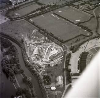 ARH NL Koberg 2038, Stadionbad im Bau, Hannover, 1970