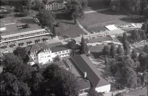 ARH NL Koberg 2159, Kurhaus und Kurpark u. a, Bad Nenndorf, 1971