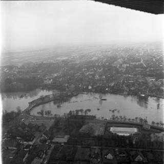 ARH NL Koberg 2174, Leinehochwasser, Neustadt a. Rbge., 1970