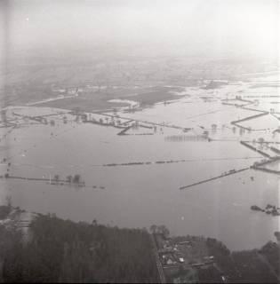 ARH NL Koberg 2198, Leinehochwasser, Schwarmstedt bis Bothmer, 1970