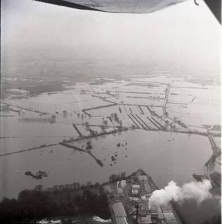 ARH NL Koberg 2199, Leinehochwasser, Schwarmstedt bis Bothmer, 1970