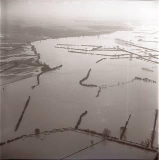 ARH NL Koberg 2206, Leinehochwasser, Niedernstöcken, 1970