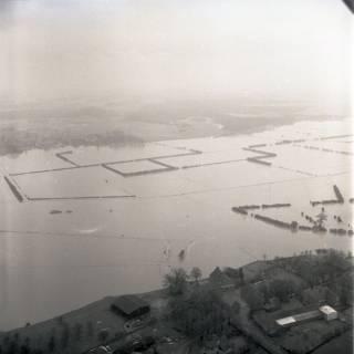 ARH NL Koberg 2214, Leinehochwasser, Mandelsloh, 1970