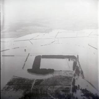 ARH NL Koberg 2215, Leinehochwasser, Mandelsloh, 1970