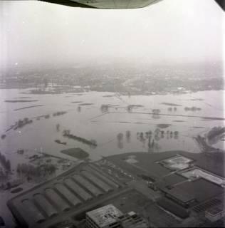 ARH NL Koberg 2237, Leinehochwasser, Seelze, 1970