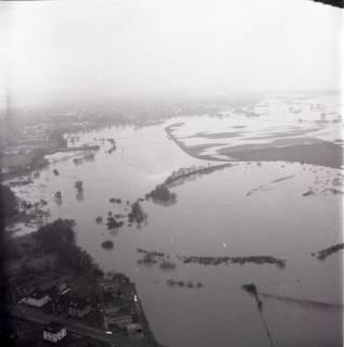 ARH NL Koberg 2239, Leinehochwasser, Seelze, 1970