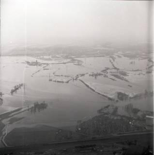 ARH NL Koberg 2242, Leinehochwasser, Grasdorf bis Rethen, 1970