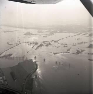 ARH NL Koberg 2243, Leinehochwasser, Grasdorf bis Rethen, 1970