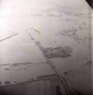 ARH NL Koberg 2245, Leinehochwasser, Grasdorf bis Rethen, 1970
