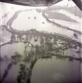 ARH NL Koberg 2248, Leinehochwasser, Grasdorf bis Rethen, 1970
