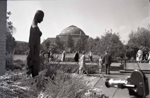 ARH NL Koberg 225, Stadtpark und Stadthalle, Hannover, 1959