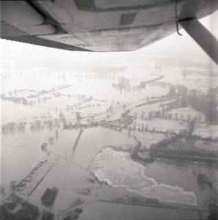 ARH NL Koberg 2251, Leinehochwasser, Grasdorf bis Rethen, 1970