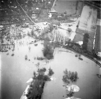 ARH NL Koberg 2286, Leinehochwasser, Leinetal Döhren, Rethen, Laatzen, 1970