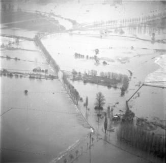 ARH NL Koberg 2289, Leinehochwasser, Leinetal Döhren, Rethen, Laatzen, 1970