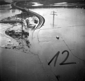 ARH NL Koberg 2294, Leinehochwasser, Leinetal Döhren, Rethen, Laatzen, 1970