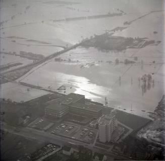 ARH NL Koberg 2296, Leinehochwasser, Leinetal Döhren, Rethen, Laatzen, 1970
