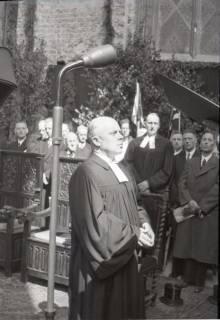 ARH NL Koberg 2452, Amtseinführung Landesbischof Dr. Dr. Hanns Lilje in der Marktkirche, Hannover, 1947