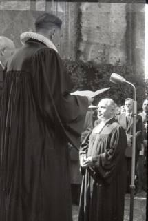 ARH NL Koberg 2453, Amtseinführung Landesbischof Dr. Dr. Hanns Lilje in der Marktkirche, Hannover, 1947
