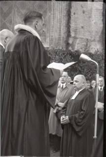 ARH NL Koberg 2454, Amtseinführung Landesbischof Dr. Dr. Hanns Lilje in der Marktkirche, Hannover, 1947