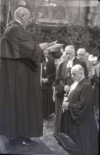 ARH NL Koberg 2457, Amtseinführung Landesbischof Dr. Dr. Hanns Lilje in der Marktkirche, Hannover, 1947