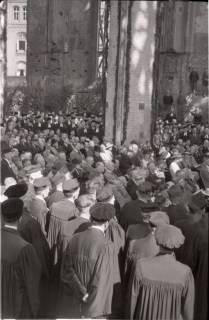 ARH NL Koberg 2459, Amtseinführung Landesbischof Dr. Dr. Hanns Lilje in der Marktkirche, Hannover, 1947