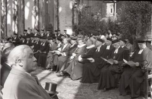 ARH NL Koberg 2461, Amtseinführung Landesbischof Dr. Dr. Hanns Lilje in der Marktkirche, Hannover, 1947