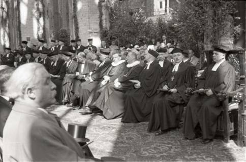 ARH NL Koberg 2462, Amtseinführung Landesbischof Dr. Dr. Hanns Lilje in der Marktkirche, Hannover, 1947