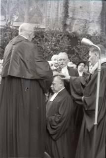 ARH NL Koberg 2464, Amtseinführung Landesbischof Dr. Dr. Hanns Lilje in der Marktkirche, Hannover, 1947