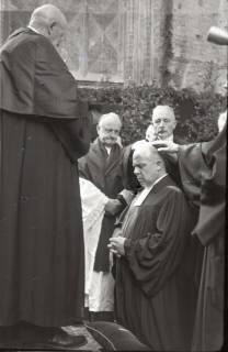 ARH NL Koberg 2465, Amtseinführung Landesbischof Dr. Dr. Hanns Lilje in der Marktkirche, Hannover, 1947