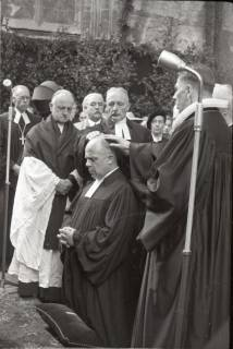 ARH NL Koberg 2466, Amtseinführung Landesbischof Dr. Dr. Hanns Lilje in der Marktkirche, Hannover, 1947