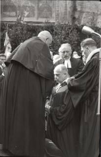 ARH NL Koberg 2467, Amtseinführung Landesbischof Dr. Dr. Hanns Lilje in der Marktkirche, Hannover, 1947
