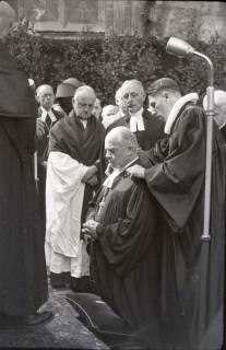 ARH NL Koberg 2468, Amtseinführung Landesbischof Dr. Dr. Hanns Lilje in der Marktkirche, Hannover, 1947
