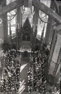 ARH NL Koberg 2469, Amtseinführung Landesbischof Dr. Dr. Hanns Lilje in der Marktkirche, Hannover, 1947