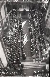 ARH NL Koberg 2470, Amtseinführung Landesbischof Dr. Dr. Hanns Lilje in der Marktkirche, Hannover, 1947