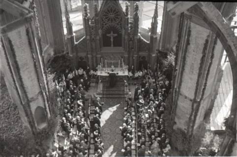 ARH NL Koberg 2471, Amtseinführung Landesbischof Dr. Dr. Hanns Lilje in der Marktkirche, Hannover, 1947