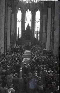 ARH NL Koberg 2473, Amtseinführung Landesbischof Dr. Dr. Hanns Lilje in der Marktkirche, Hannover, 1947