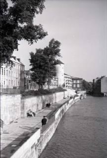 ARH NL Koberg 253, Am Hohen Ufer mit Beginenturm, Hannover, 1958