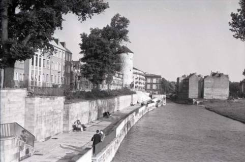 ARH NL Koberg 254, Am Hohen Ufer mit Beginenturm, Hannover, 1958