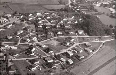 ARH NL Koberg 2544, Neubausiedlung von Einfamilienhäusern, Nienstedt, 1972
