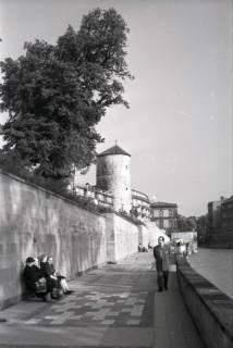 ARH NL Koberg 255, Am Hohen Ufer mit Beginenturm, Hannover, 1958