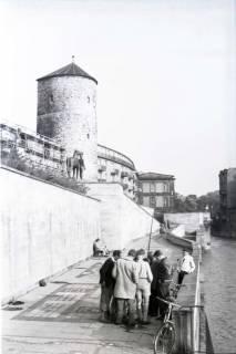 ARH NL Koberg 258, Am Hohen Ufer mit Beginenturm, Hannover, 1958