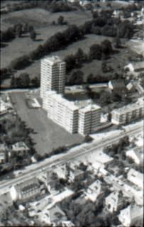 ARH NL Koberg 2612, Hochhäuser Walsroder Straße, Langenhagen, 1971
