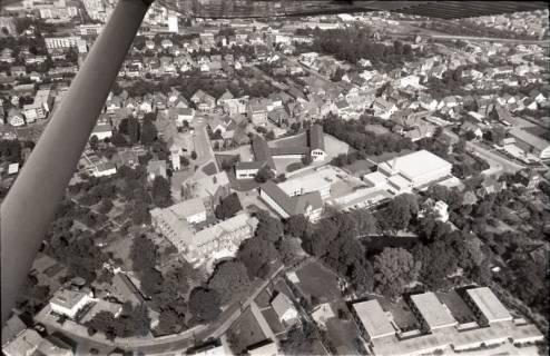 ARH NL Koberg 2655, Stadtansicht mit Rathaus und Kloster, Barsinghausen, 1971