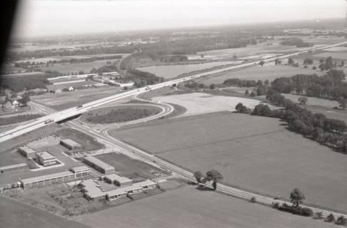 ARH NL Koberg 2771, Autobahnabfahrt Kiebitzkrug, Langenhagen, 1976