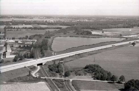ARH NL Koberg 2773, Autobahnabfahrt Kiebitzkrug, Langenhagen, 1976