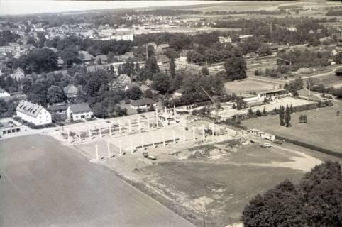 ARH NL Koberg 2782, Bau des Eisstadions, Mellendorf , 1976