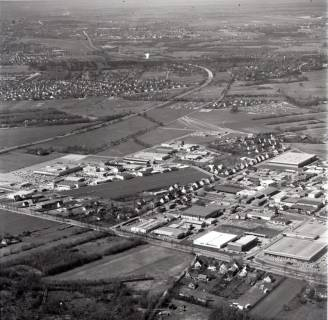 ARH NL Koberg 2870, Gewerbegebiet und Wohnsiedlung, Altwarmbüchen, 1974