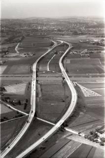 ARH NL Koberg 2893, Autobahn über die Weser, Vlotho, 1960